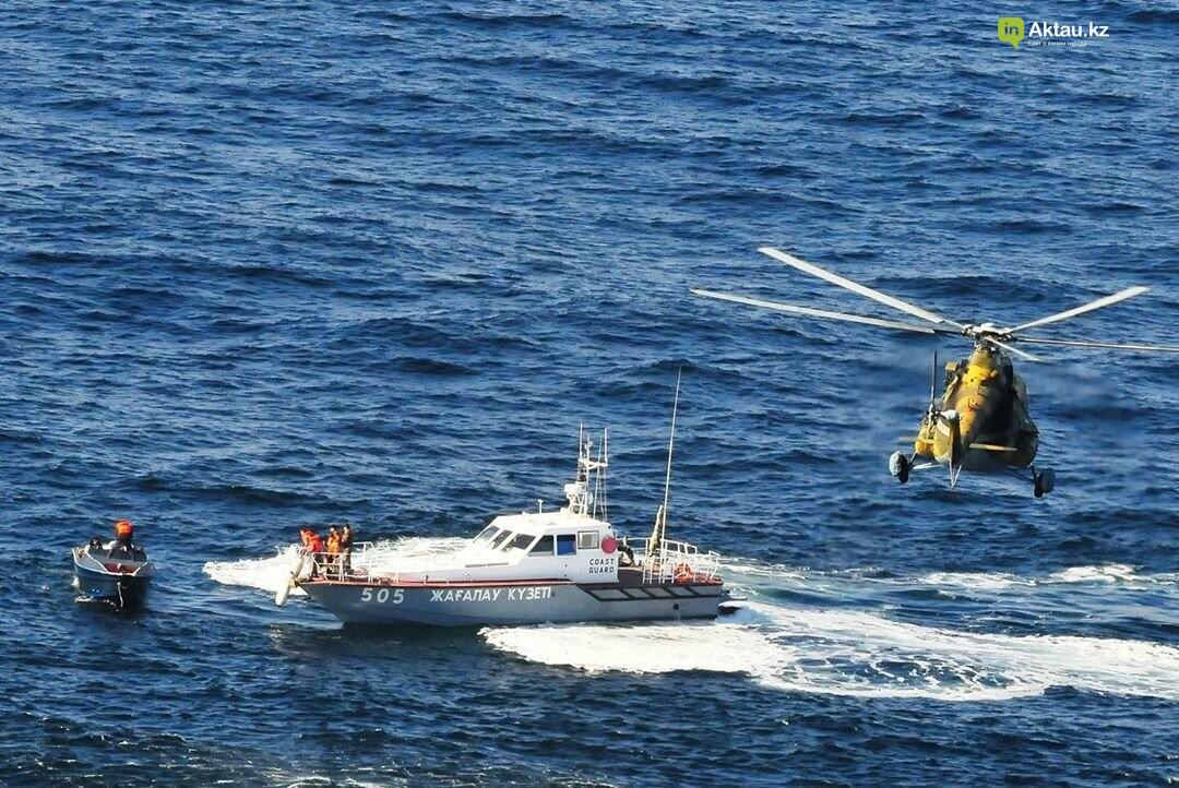 57 нарушителей задержали морские пограничники на Каспии, фото-1