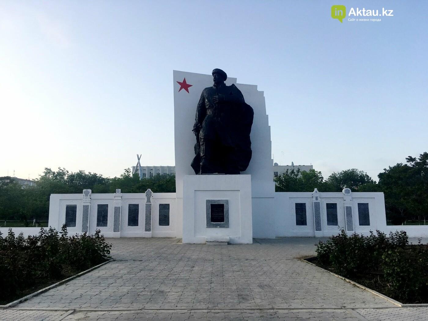 В Актау хотят отремонтировать памятник Кашагану, фото-1