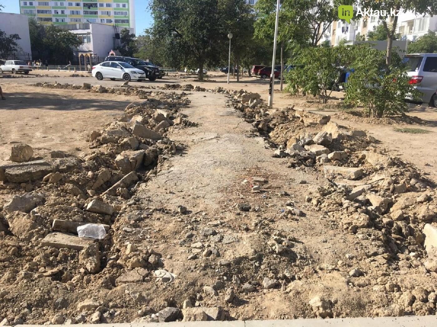 Долгий ремонт: инициативная группа актаусцев возмутилась темпами благоустройства микрорайонов, фото-1