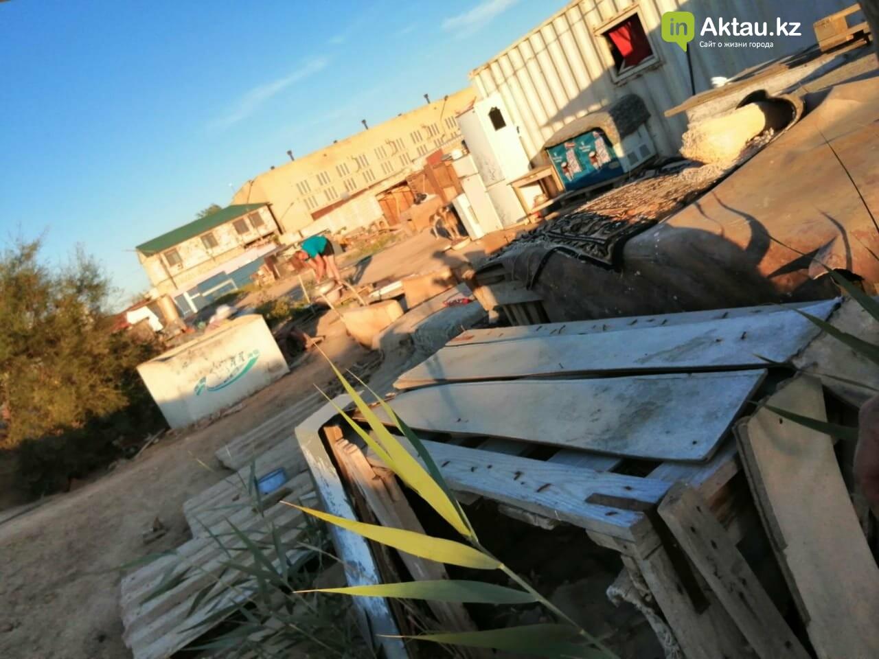 Волонтеры в Актау просят горожан помочь со строительством ограждения в приюте , фото-3