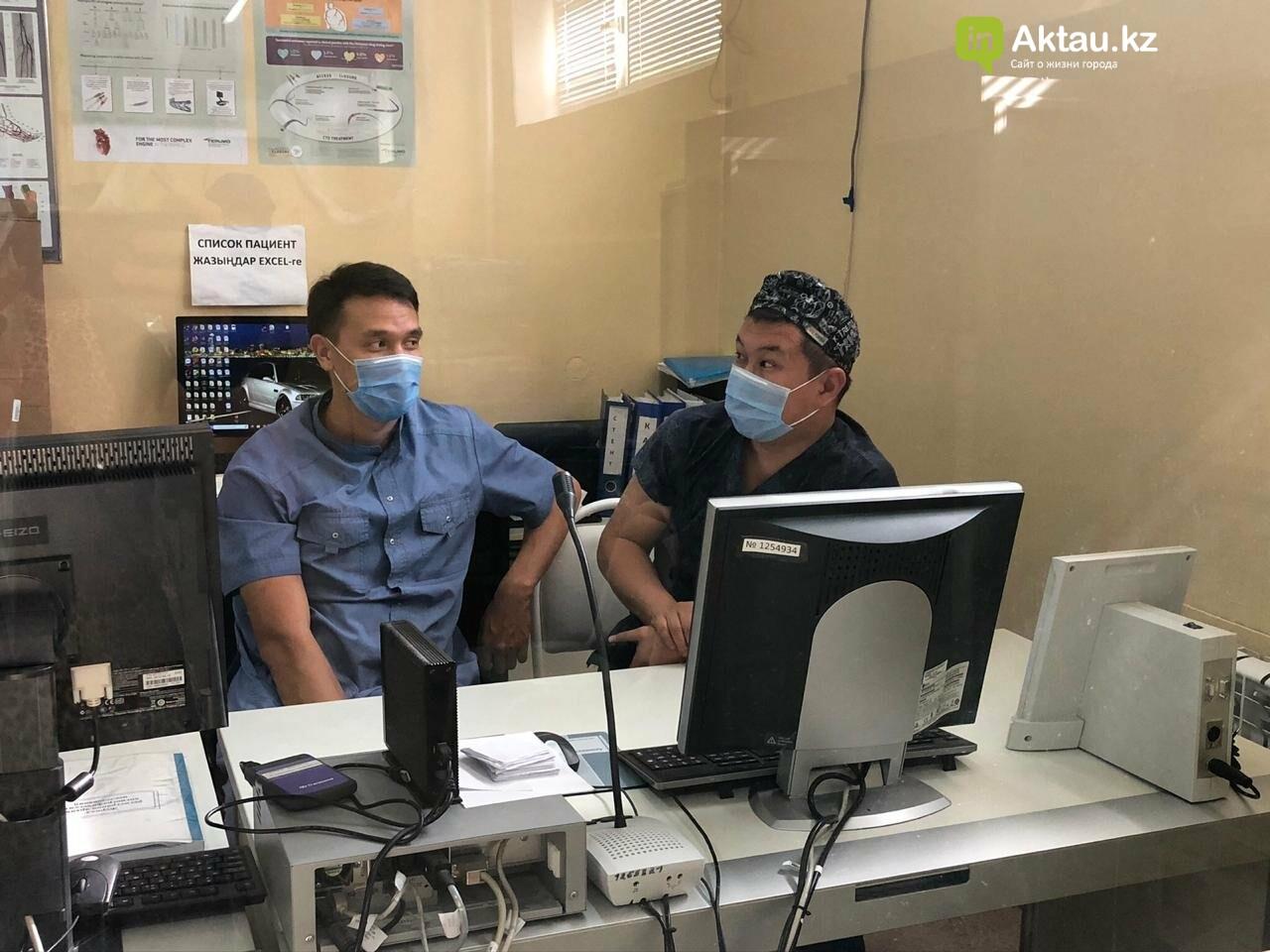 Новые технологии в лечении внедряются в Актау , фото-2