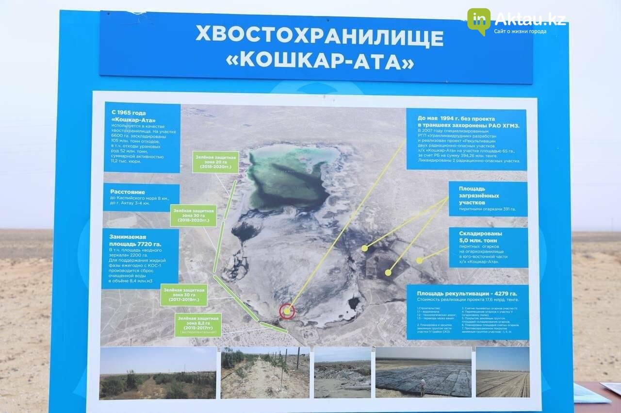 Первый этап рекультивации хвостохранилища Кошкар ата обещают начать в марте, фото-1