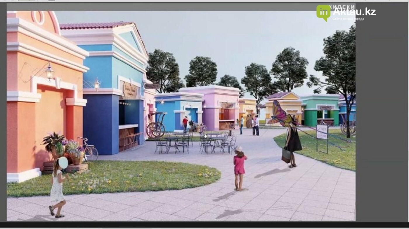 На Теплом пляже в Актау построят тематический парк развлечений и торговые ряды , фото-1