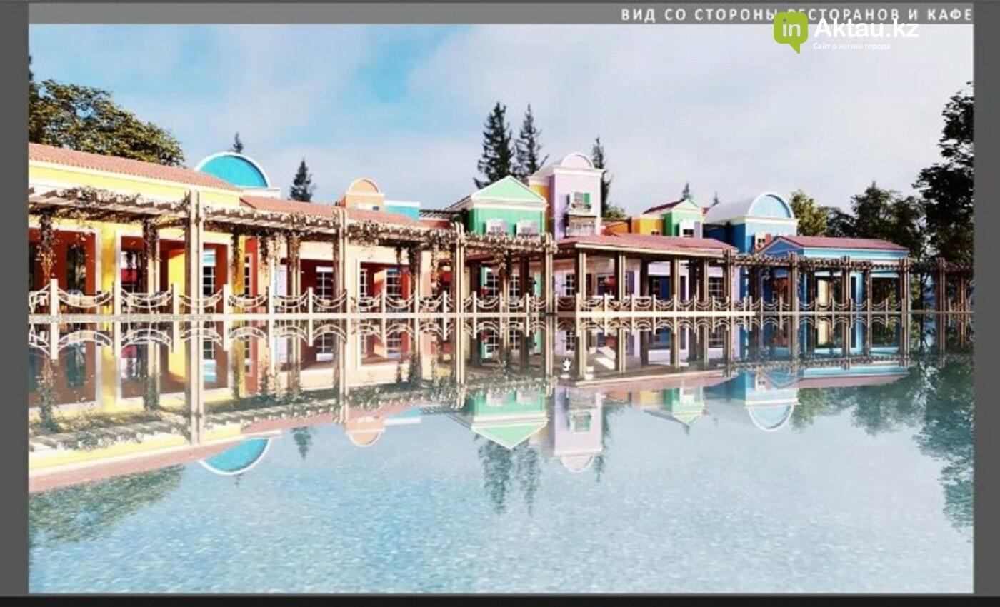 На Теплом пляже в Актау построят тематический парк развлечений и торговые ряды , фото-3
