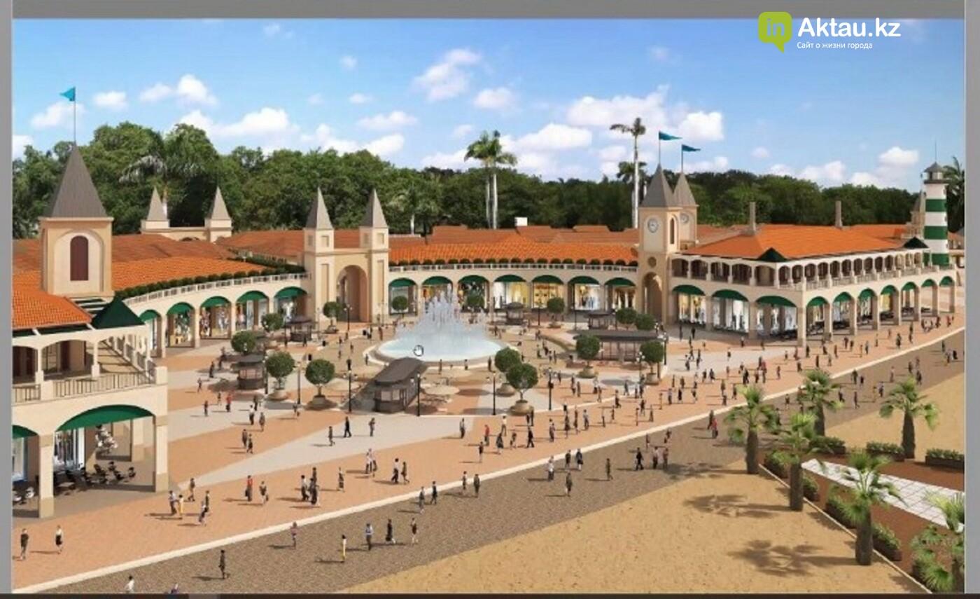 На Теплом пляже в Актау построят тематический парк развлечений и торговые ряды , фото-4
