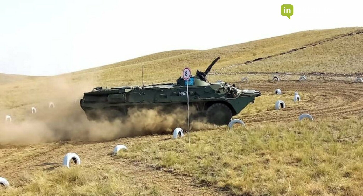 "Танковый биатлон., Пресс-служба РгК ""Батыс"""