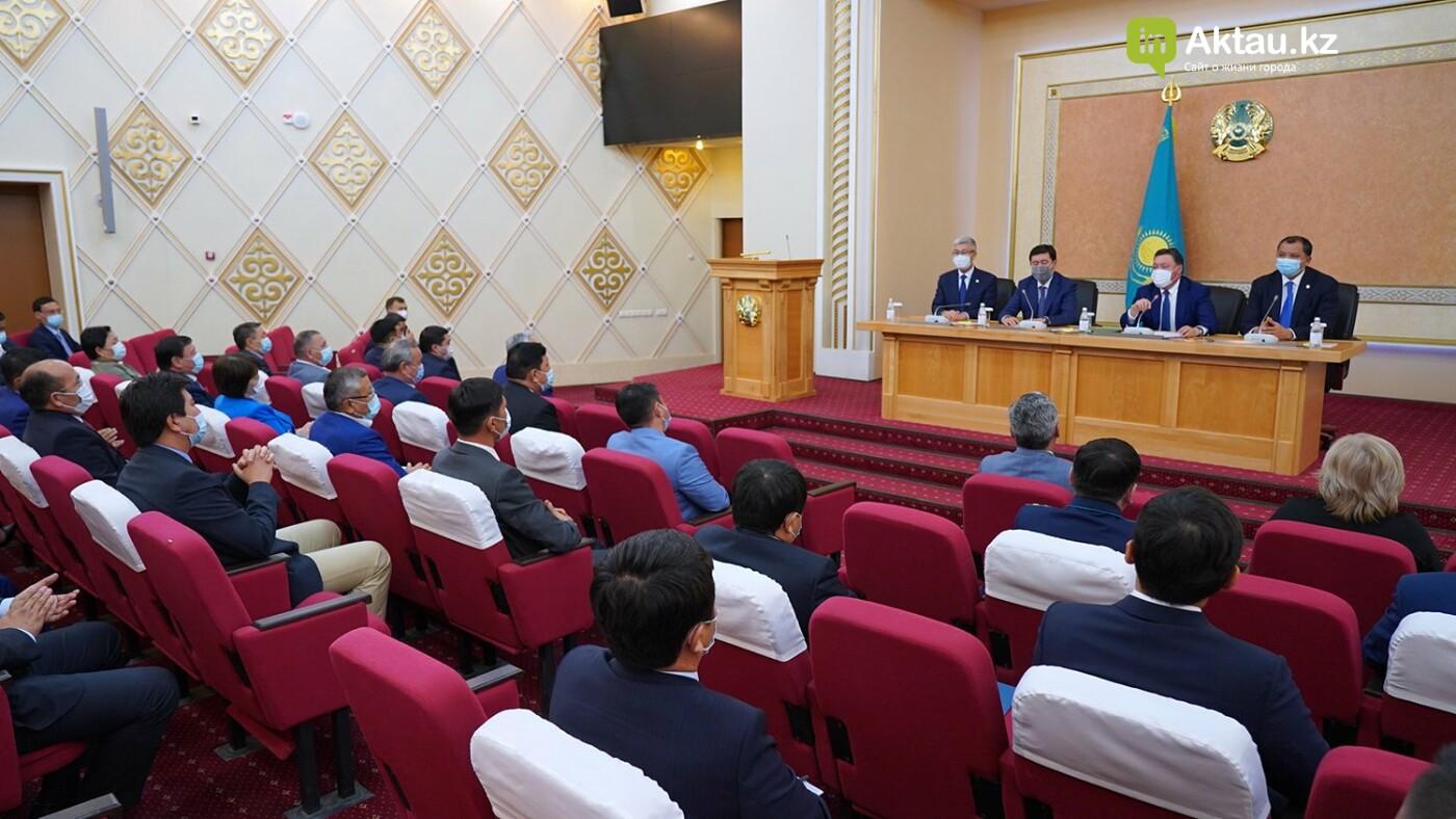 Назначение нового акима, primeminister.kz