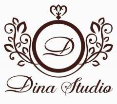 Логотип - Fashion Dina Studio (Фешн Дина Студио), салон национальной одежды в городе Актау