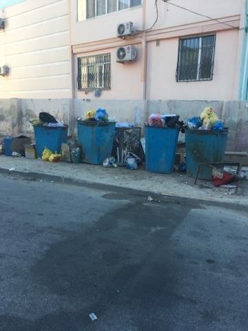 В Актау проблему переполненных мусорных баков связывают с нехваткой сжиженного газа, фото-1