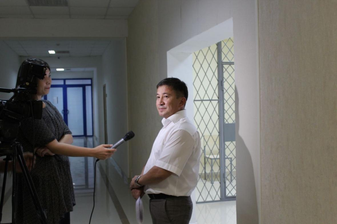 В Департаменте государственных доходов Мангистауской области открыли комнату для допроса, фото-7