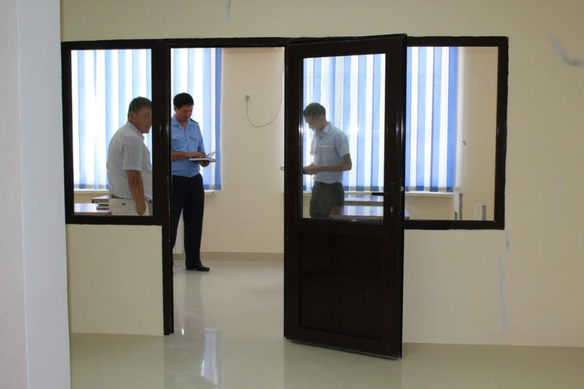 В Департаменте государственных доходов Мангистауской области открыли комнату для допроса, фото-5