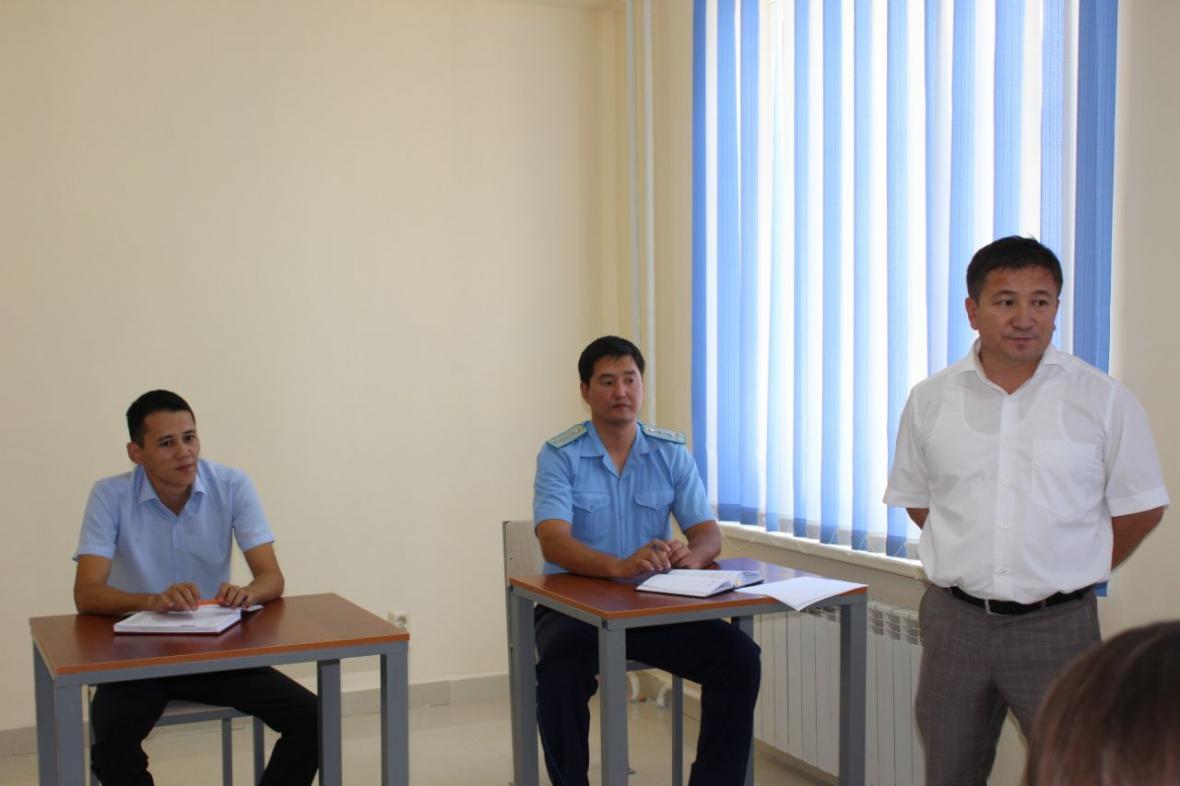 В Департаменте государственных доходов Мангистауской области открыли комнату для допроса, фото-3