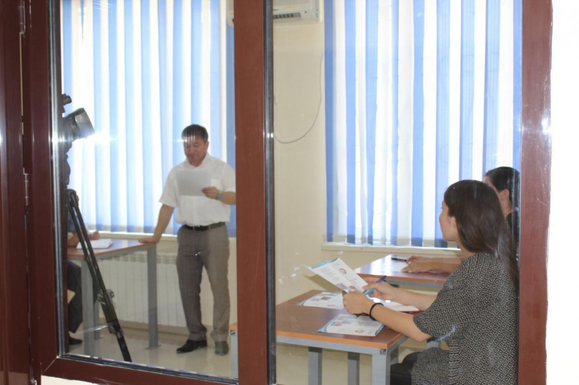 В Департаменте государственных доходов Мангистауской области открыли комнату для допроса, фото-9