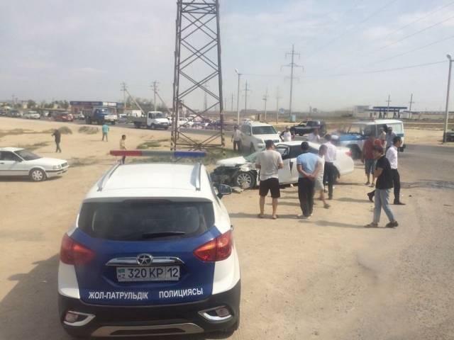 Полиция Актау сообщила о подробностях аварии с трактором, фото-2