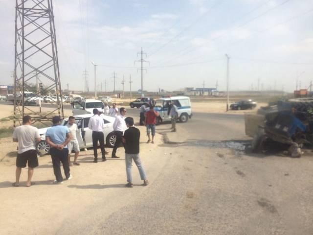 Полиция Актау сообщила о подробностях аварии с трактором, фото-1