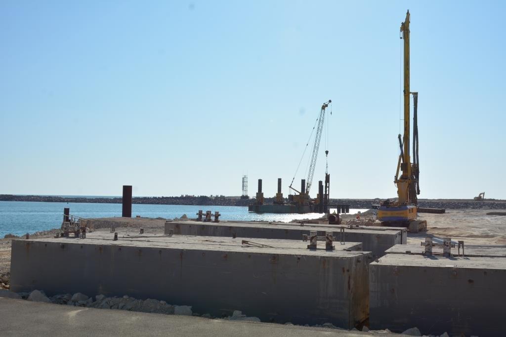 В порту Курык строят автомобильный переход, фото-2