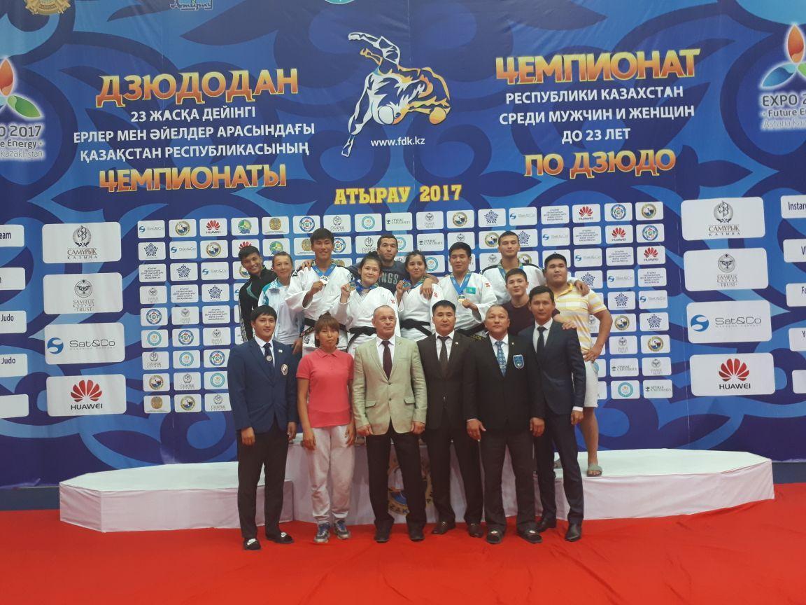 Мангистауские дзюдоисты завоевали 5 медалей в первый день чемпионата РК, фото-8