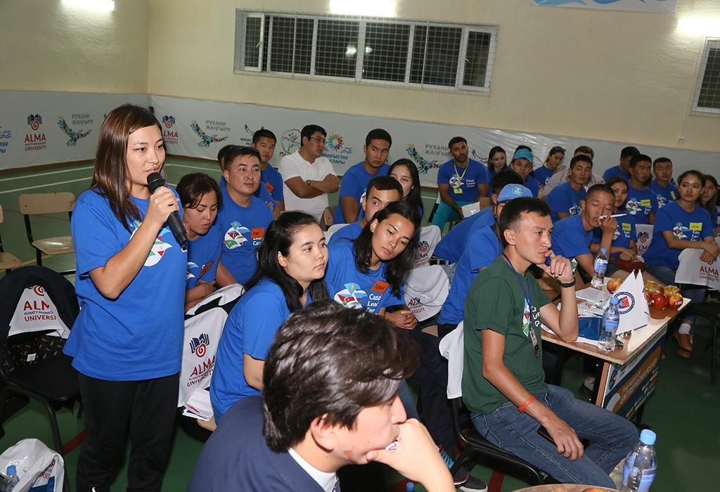 """В Актау открылся молодежный лагерь """"Caspi Leader Camp"""", фото-2"""