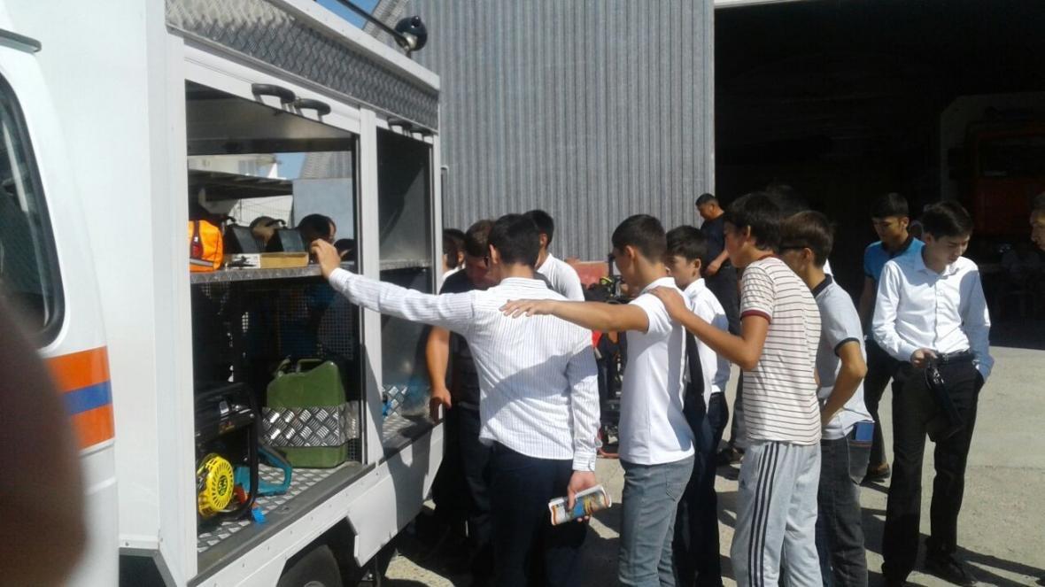 Спасатели Мангистау провели День открытых дверей для студентов (Фото), фото-6