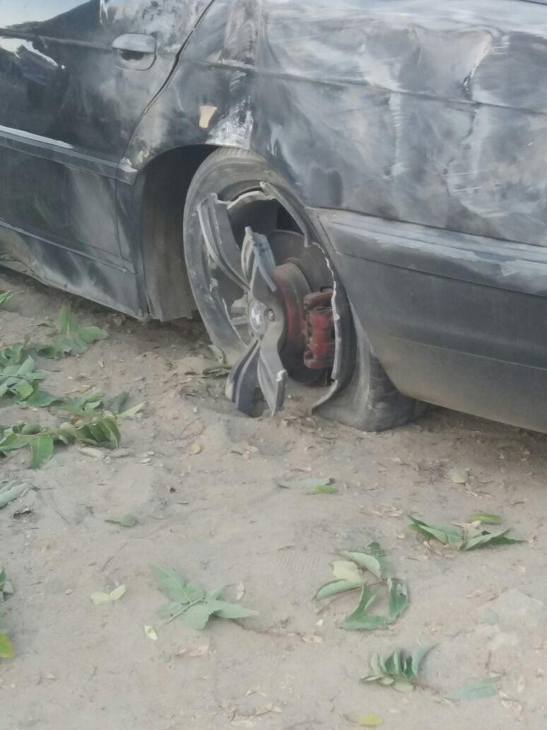 """В Актау перевернулся """"BMW"""" (Фото), фото-1"""