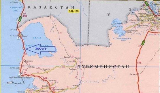Туркменистан построит мост на Каспийском море, фото-1