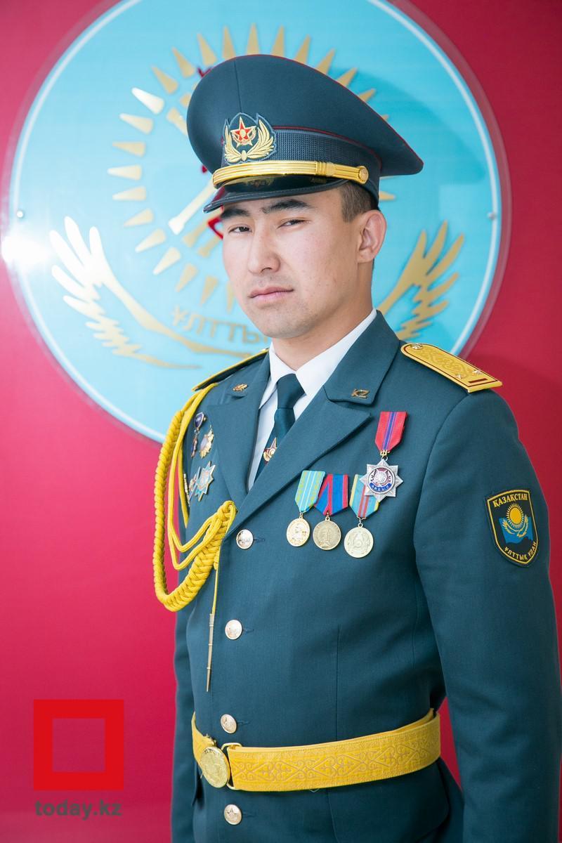 """Военнослужащий из Мангистау войдет в список """"100 новых лиц Национальной гвардии РК"""", фото-1"""