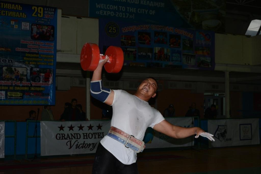 В Актау 11 силачей боролись за победу на чемпионате по Strongman, фото-18