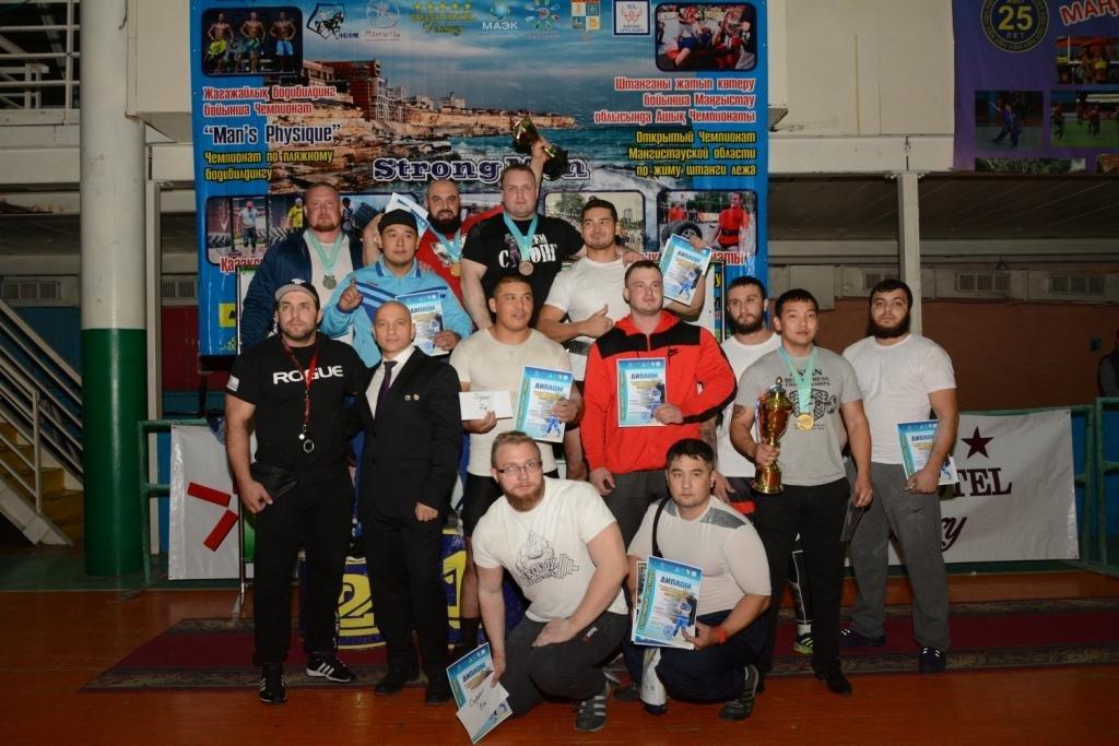 В Актау 11 силачей боролись за победу на чемпионате по Strongman, фото-1