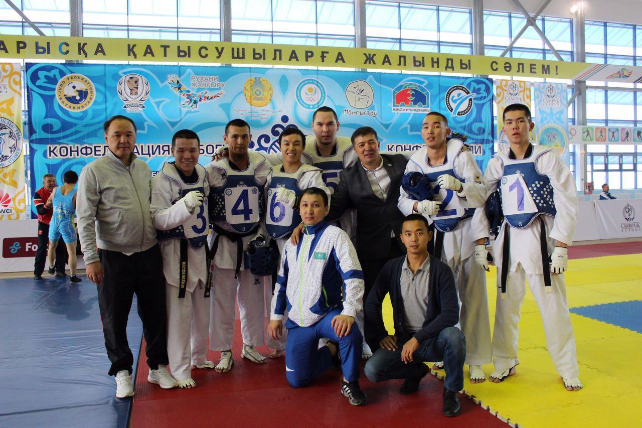 Мангистауские таэквондисты и боксеры прошли в полуфинал Кубка конфедераций, фото-16