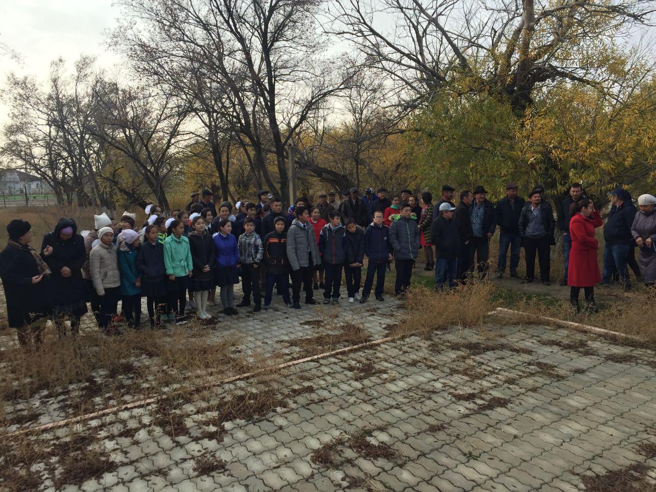 Жители села Онды вскрыли свою капсулу времени с посланием, фото-9