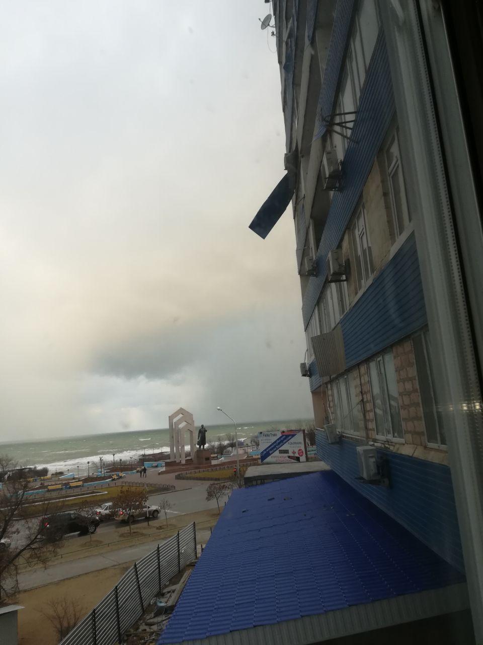 Последствия ветра в Актау (ФОТО), фото-2