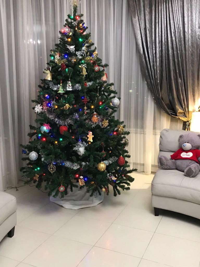 Красавицы Актау: как жители города украсили свои елки (ФОТО), фото-12