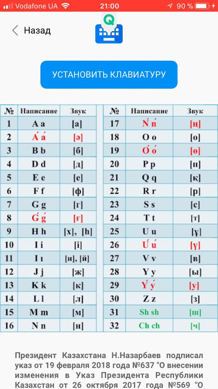 Казахский на латинице под рукой: запущено новое мобильное приложение, фото-3