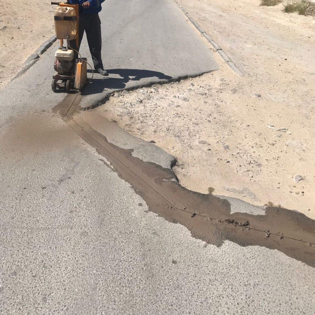 В четырех нижних микрорайонах Актау начался ремонт дорог (ФОТО), фото-7