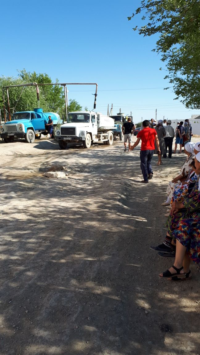 Жители села Кызылтобе почти неделю сидят без питьевой воды, фото-1