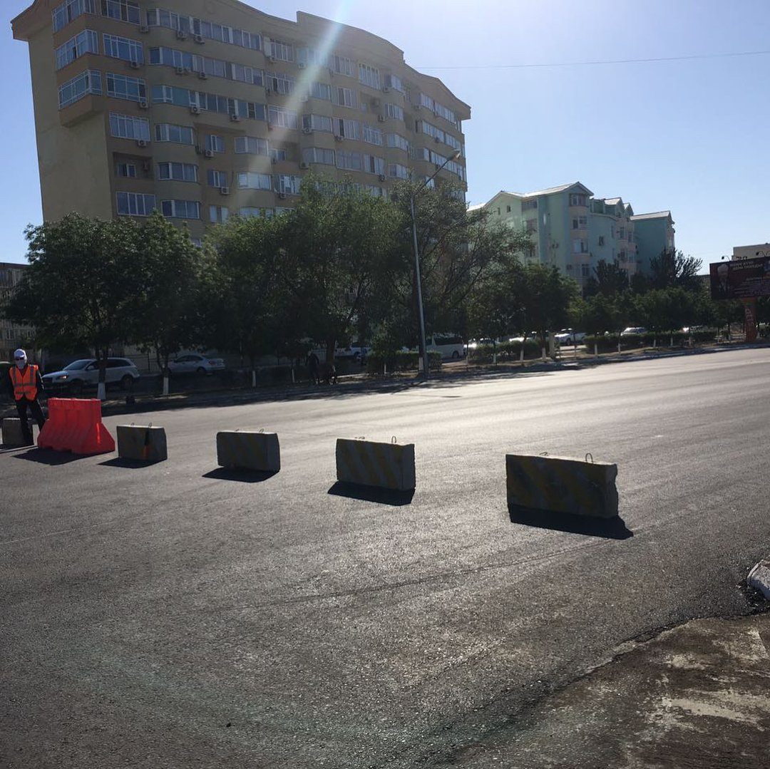 Участок центральной дороги закрыли в Актау до 25 мая, фото-2