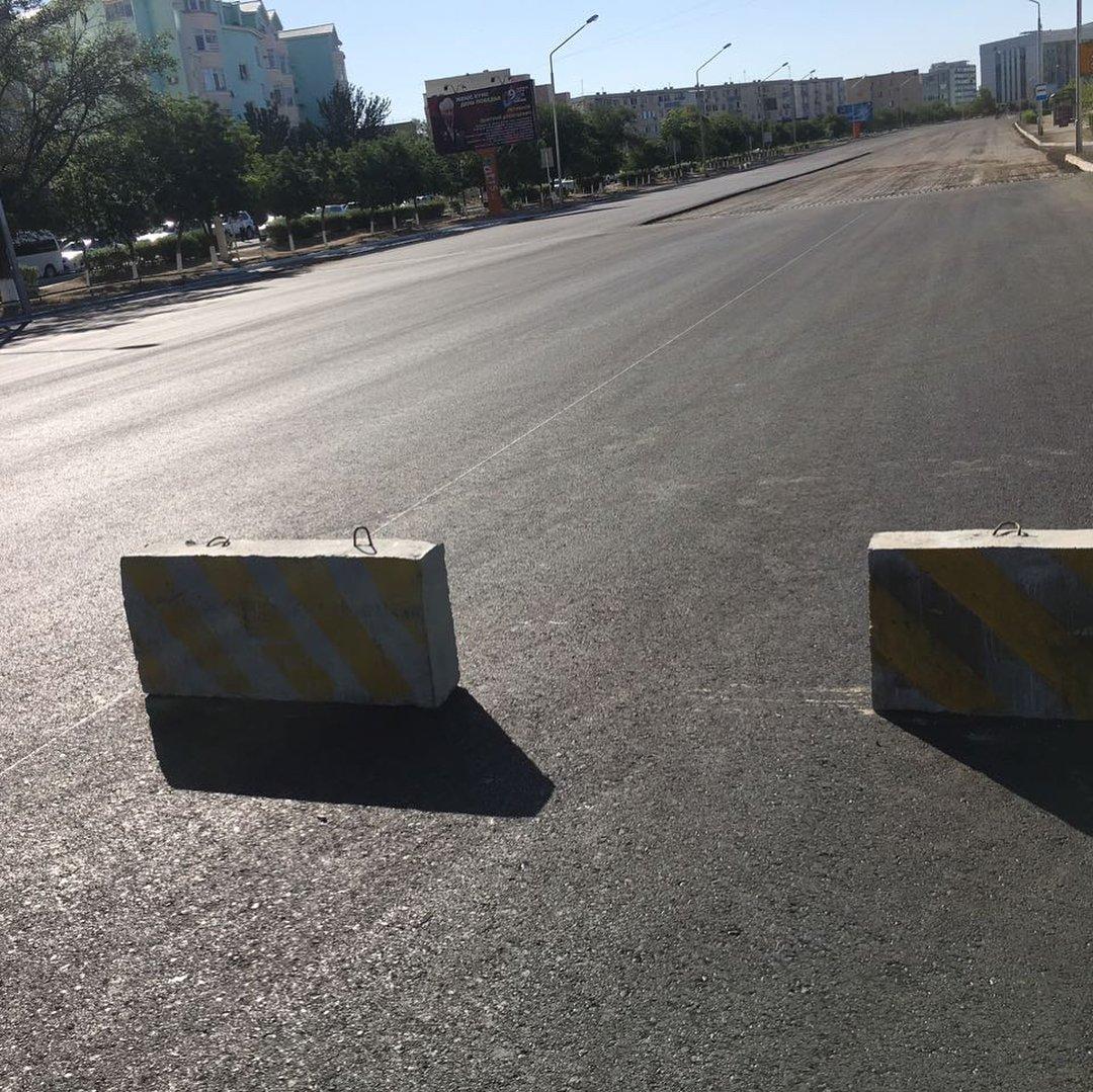 Участок центральной дороги закрыли в Актау до 25 мая, фото-3