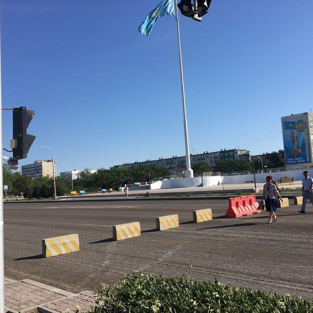 Участок центральной дороги закрыли в Актау до 25 мая, фото-1