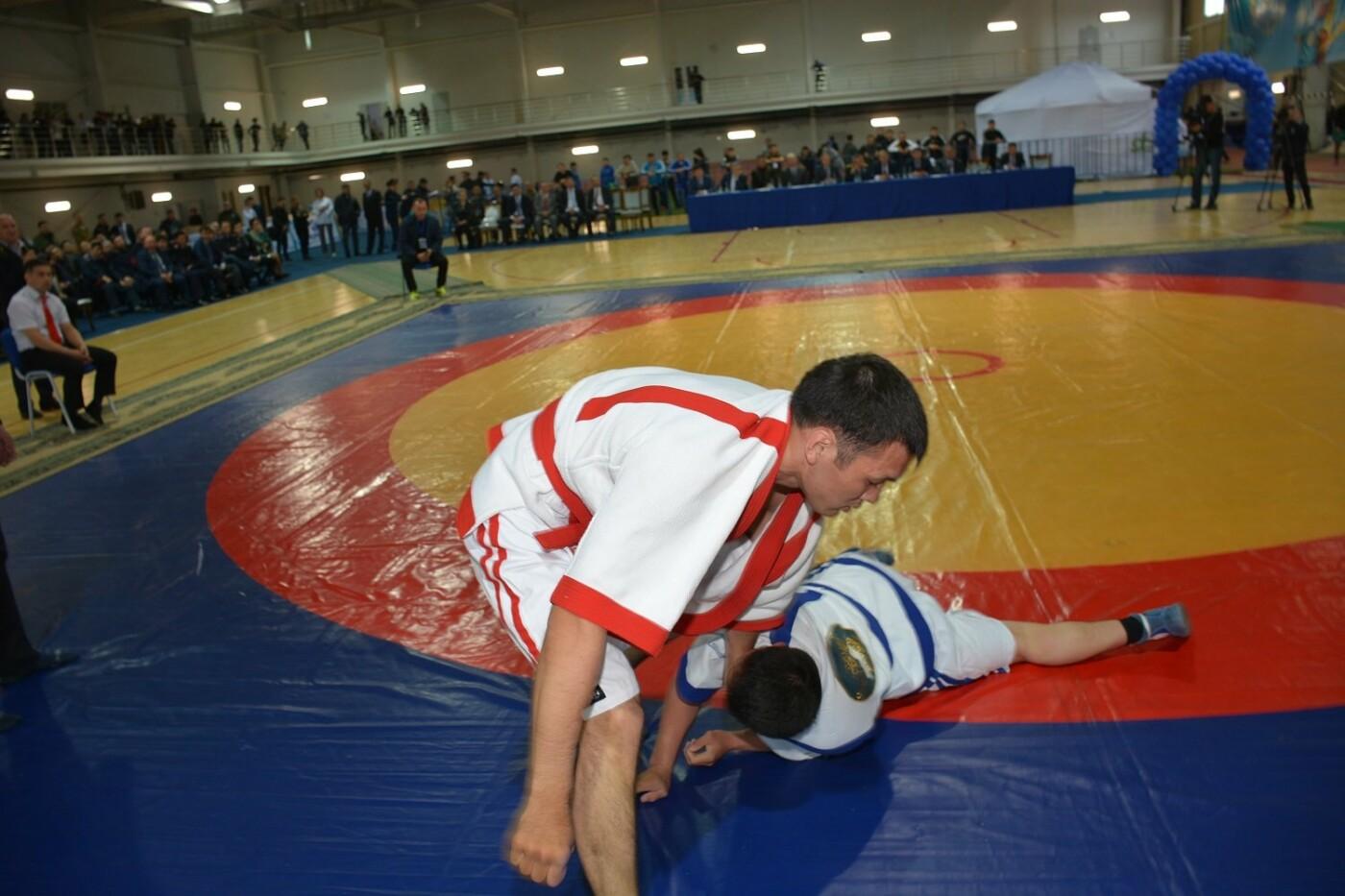 Палуаны из Мангистау стали призерами первого чемпионата МВД РК по казақ күресі , фото-1