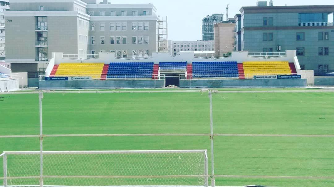 """В Актау инвесторы продлили срок замены газона на стадионе """"Жас Канат"""" (ФОТО), фото-2"""