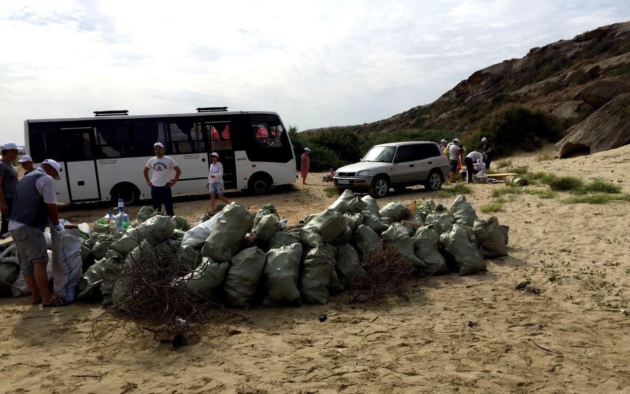 110 мешков мусора вывезли активисты с Голубой бухты, фото-1