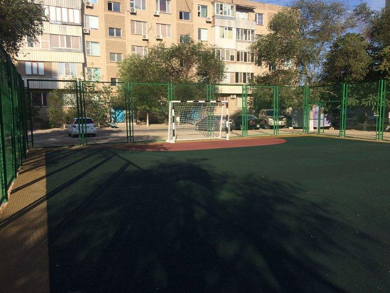 В двух микрорайонах Актау отремонтировали детские площадки (ФОТО), фото-2