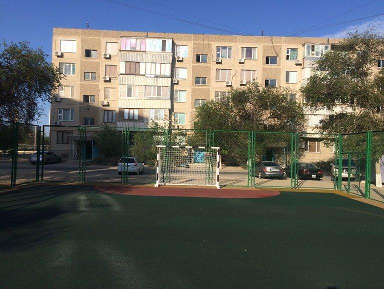 В двух микрорайонах Актау отремонтировали детские площадки (ФОТО), фото-1