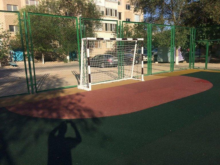 В двух микрорайонах Актау отремонтировали детские площадки (ФОТО), фото-3