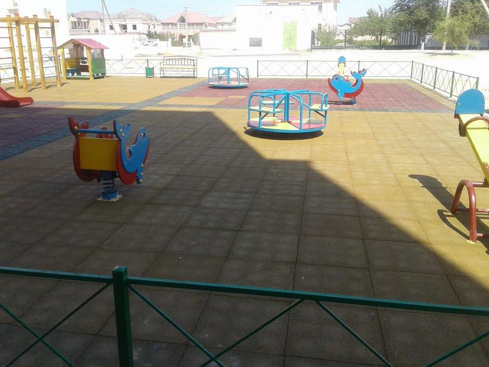 В двух микрорайонах Актау отремонтировали детские площадки (ФОТО), фото-6