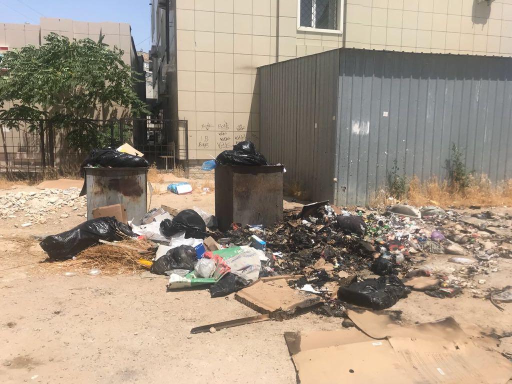 Актау утопает в мусоре и отходах по вине арбузов (ФОТО), фото-3