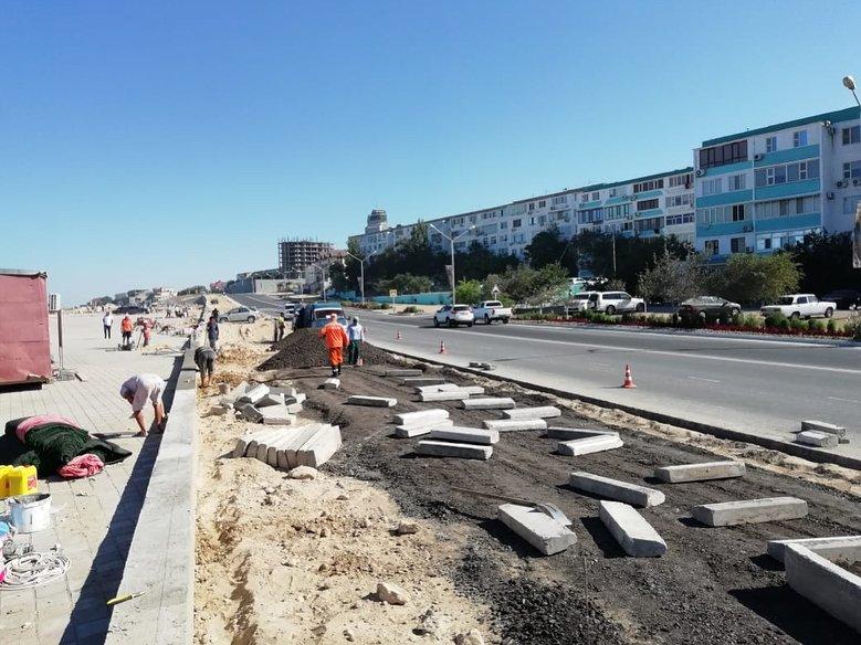 В Актау строят парковку на 100 машин, фото-2
