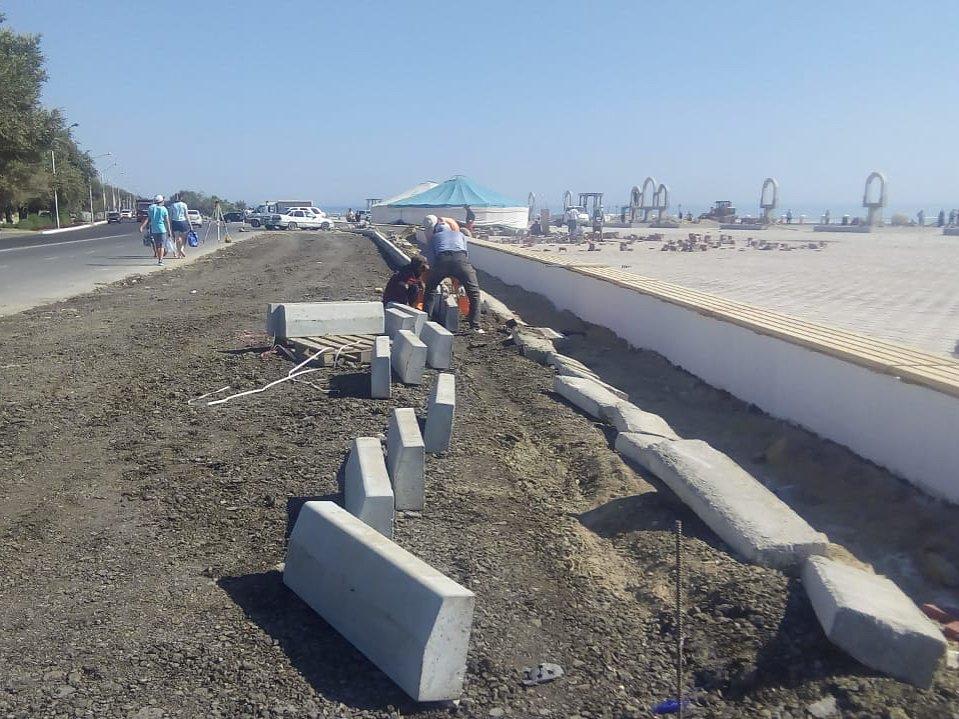 В Актау строят парковку на 100 машин, фото-3