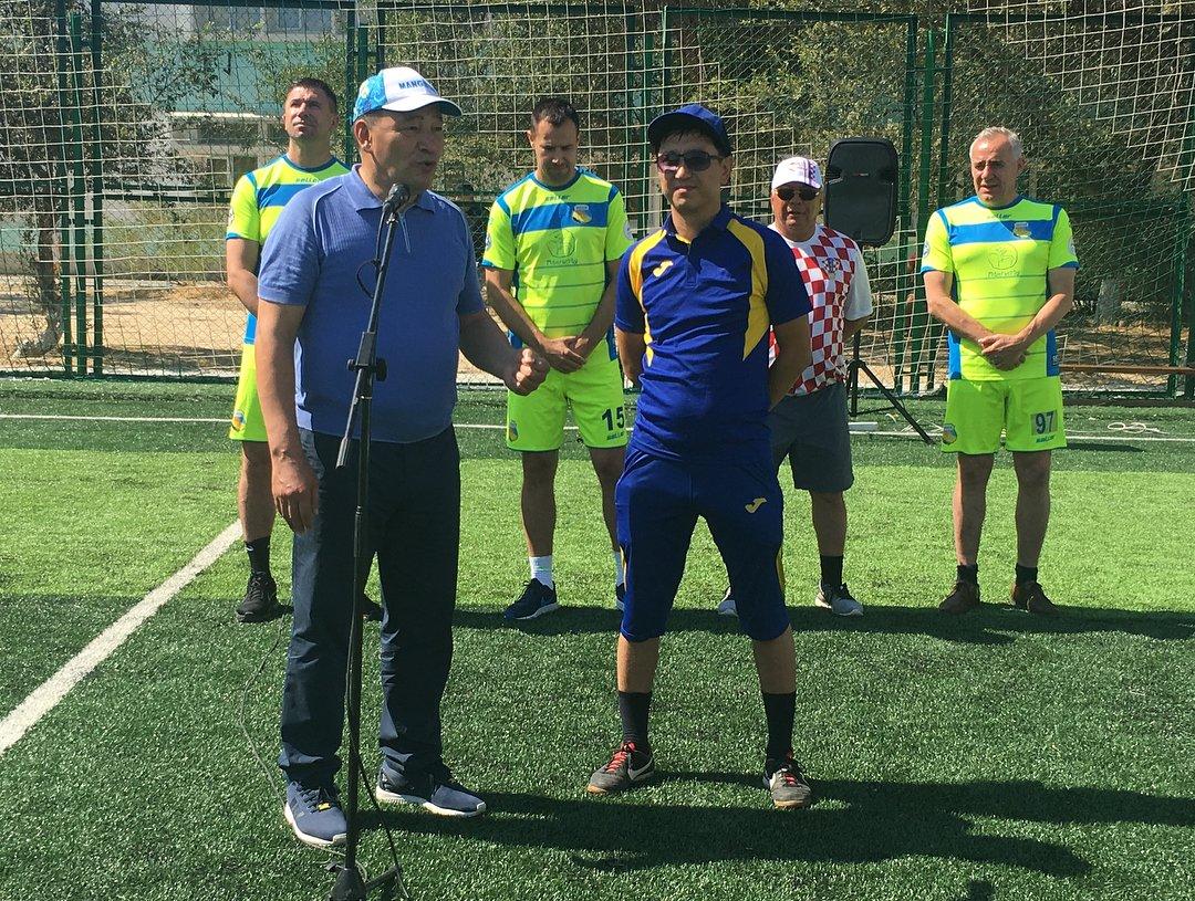 Футбольное поле по стандартам FIFA открыли в Актау, фото-7