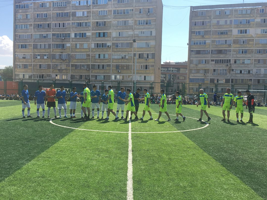 Футбольное поле по стандартам FIFA открыли в Актау, фото-6
